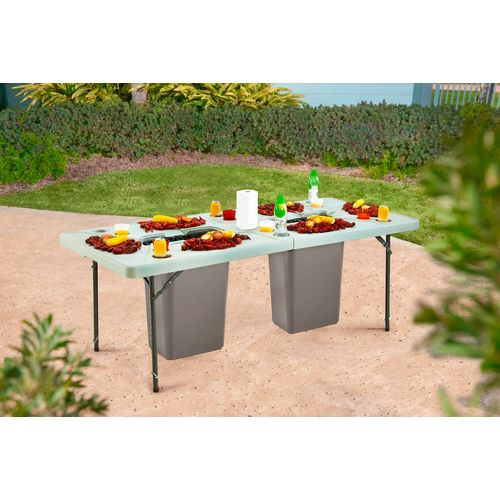 Outdoors 7 Folding Cookout Table Mid South Party Depot
